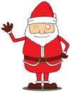 Hello Santa Claus Royalty Free Stock Image