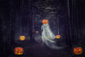 Helloween ghost Royalty Free Stock Photo