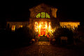 Helloween house Stock Images