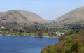 Helm Crag, Steel Fell, Dunmail Raise and Grasmere Royalty Free Stock Photo