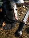 Timón y espada