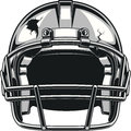 Helmet for playing football Royalty Free Stock Photo