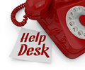 Help desk Stock Photography