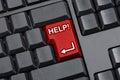 Help Key Empty Computer Keyboard