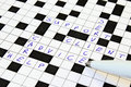 Help, Support, Advice, Client, Service Crossword Stock Photography