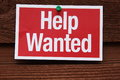Help Wanted Sign Royalty Free Stock Photo