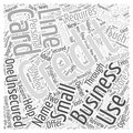 Help Your Business with the Unsecured Line of Credit word cloud concept word cloud concept background Royalty Free Stock Photo