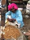 Helpless Farmer Royalty Free Stock Photo