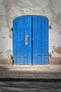 Helsingor Blue Doors Royalty Free Stock Photo