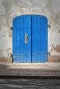Helsingor Blue Doors Royalty Free Stock Photo