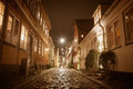 Helsingor at night Royalty Free Stock Photo