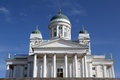 Helsinki cathedral the in finland is the symbol of the city Royalty Free Stock Image