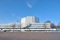 Helsinki. Congress Hall  Finlandia Royalty Free Stock Photo