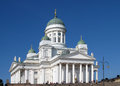 Helsinki finland august cathedral on august in finland this cathedral is an evangelical lutheran church of the Royalty Free Stock Photo