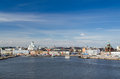 Helsinki finland view of the city of Stock Photography