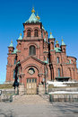 Helsinki Orthodox Uspensky Cathedral Royalty Free Stock Photography