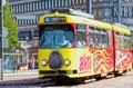 Helsinki tram Royalty Free Stock Image