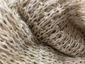 Hemp fiber, woven from natural fibers into fabrics Hand-made products from villagers Royalty Free Stock Photo
