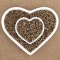 Hemp Seed Royalty Free Stock Photo