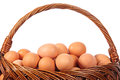 Hen's eggs Royalty Free Stock Images