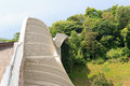 Henderson waves bridge on mount faber rainforest singapore Stock Photo