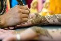 Henna Art Royalty Free Stock Photo