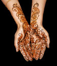 Henna design Royalty Free Stock Photo