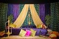 Henna stage Royalty Free Stock Photo