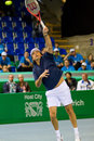 Henri Leconte at Zurich Open 2012 Stock Image