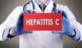 Hepatitis c Royalty Free Stock Photo