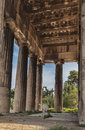 Hephaestus Temple Athens Greece Stock Photos