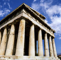 Hephaisteion em Atenas Foto de Stock Royalty Free