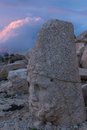 Heracles Artagnes Ares at Nemrut Mountain, Turkey Royalty Free Stock Photo