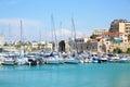 Heraklion port Royalty Free Stock Photo