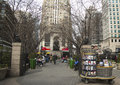 Herald square op broadway in manhattan Royalty-vrije Stock Afbeelding