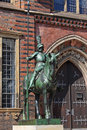 Herald statue, Bremen Royalty Free Stock Photos