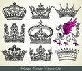 Heraldic crown Royalty Free Stock Photography