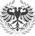 Heraldic eagle Royalty Free Stock Photography
