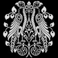 Heraldic Eagles Decoration Royalty Free Stock Image