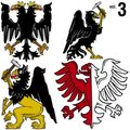Heraldic Eagles vol.3 Stock Images