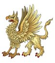 Heraldic Griggin  Stock Image