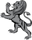 Heraldic lion Stock Photography