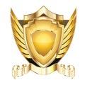 Heraldic shield v.5