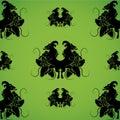 Heraldry pattern Royalty Free Stock Photo