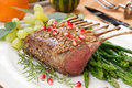 Herb Crusted Rack of Lamb Royalty Free Stock Photo