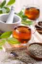 Herb tea Royalty Free Stock Photo