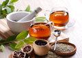 Herb tea Royalty Free Stock Photo