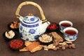 Herb Tea Selection Royalty Free Stock Photo