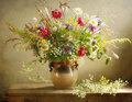 Herbage bouquet Stock Images