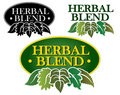 Herbal Blend Seal Stock Photography
